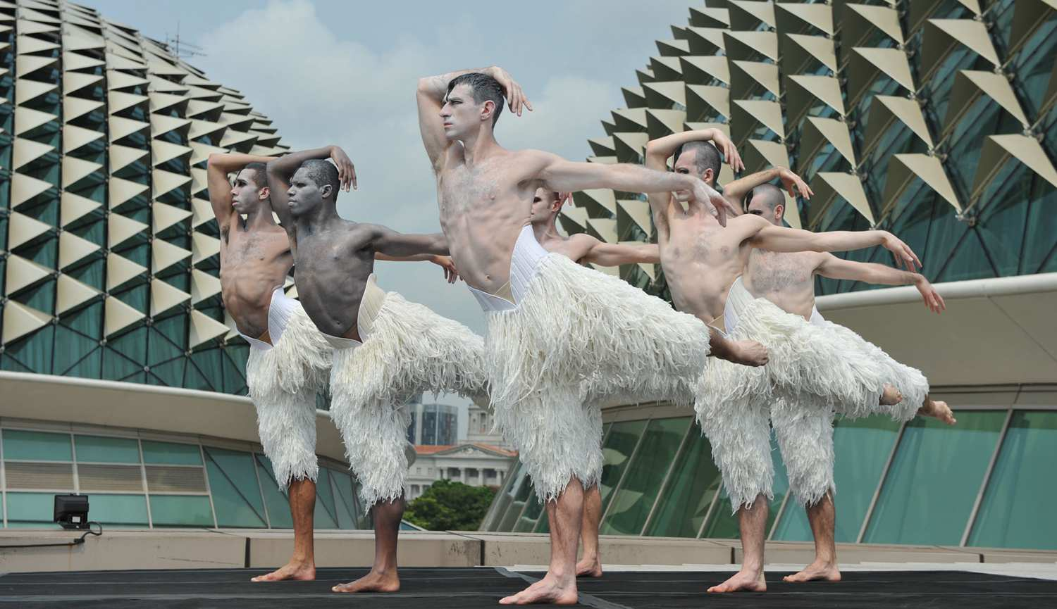 Singapore STories - Swan Lake performance