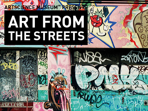 Art from the Streets at ArtScience Museum