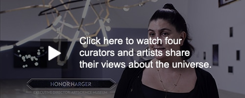 VIDEOS OF CURATORS' AND ARTISTS' VIEWS OF UNIVERSE