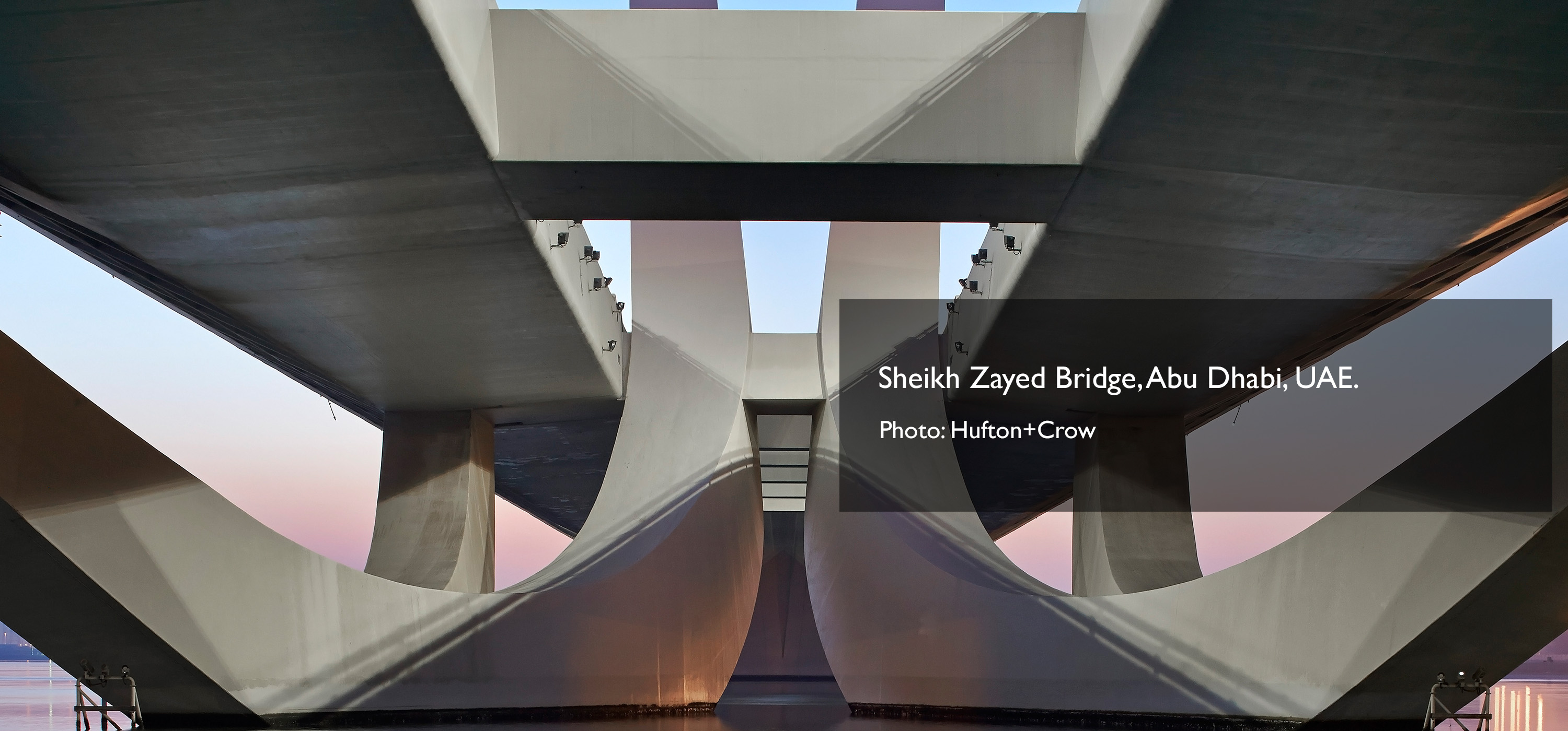 ZHA Sheikh Zayed Bridged Photo by Hufton+Crow