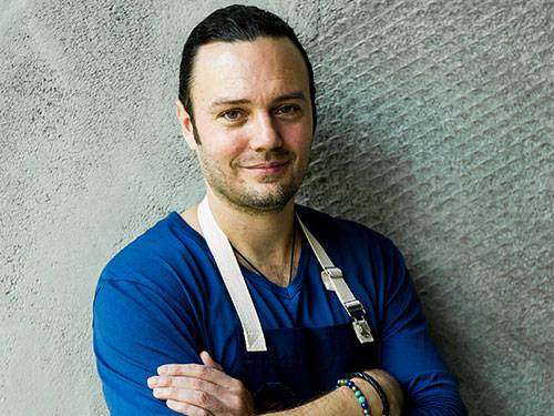 Celebrity Chef David Myers at Marina Bay Sands