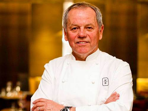 Chef Wolfgang Puck at Marina Bay Sands