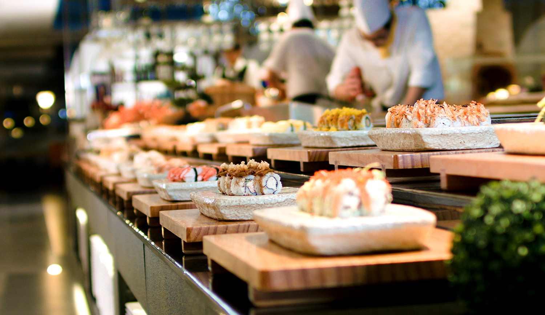 The Line  International Cuisine at ShangriLa Hotel Singapore