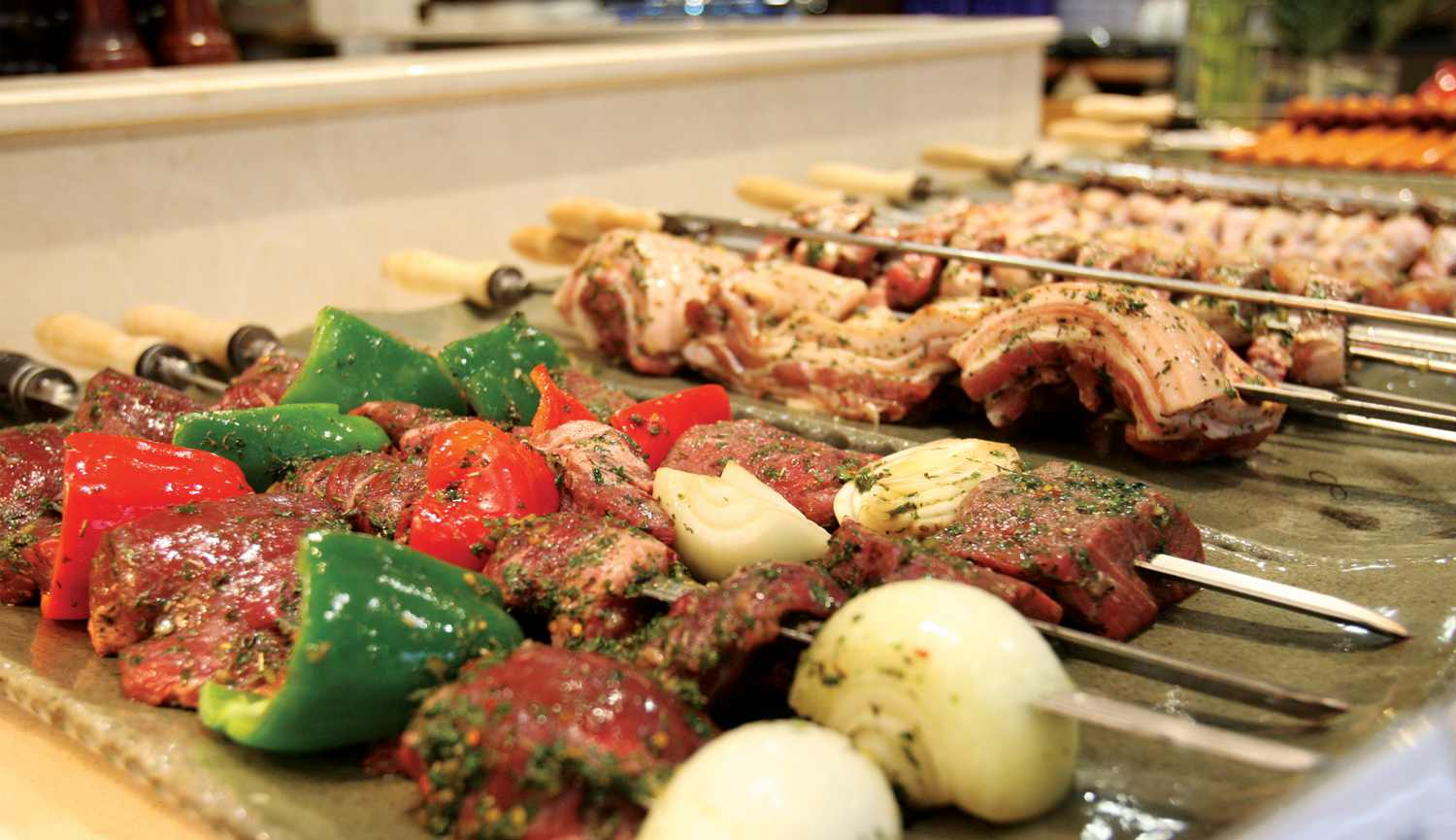 TODAI Buffet - Churrasco Section
