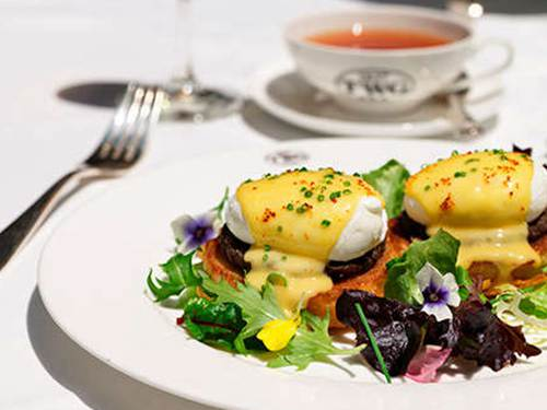 Eggs Benedict by TWG Tea Salon & Boutique at Marina Bay Sands