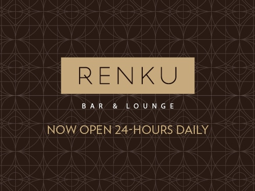Renku Bar and Lounge at Marina Bay Sands