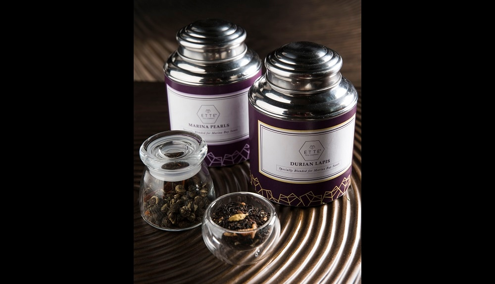 Marina Bay Sands Exclusive Tea Blends - Marina Pearls and Durian Lapis