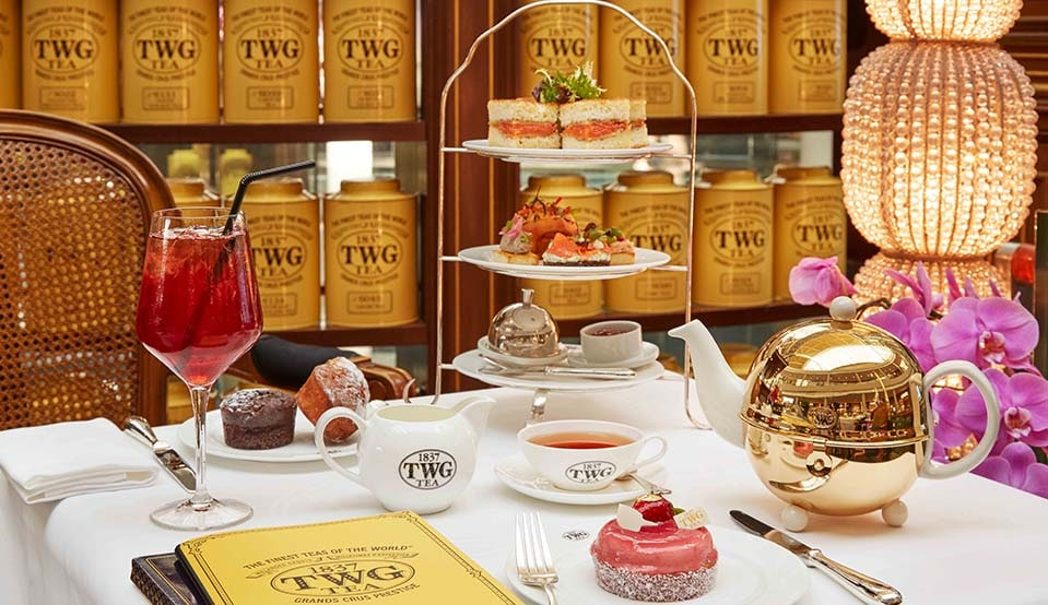 TWG TEA Parisian Afternoon Tea