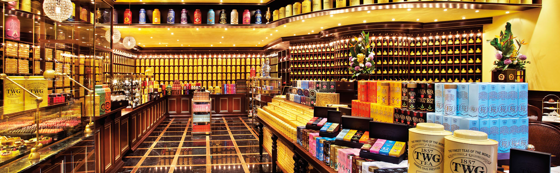 Twg tea salon and boutique singapore restaurants for 56 west boutique and salon