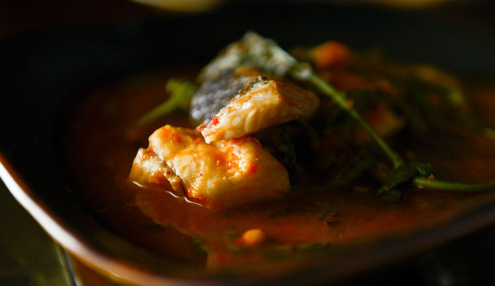 Long Chim - Sour Orange Curry of Snakeskin Fish
