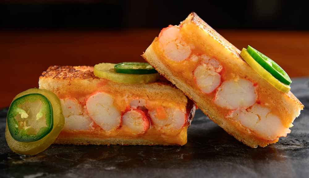 King Crab Melt by Adrift Bar & Lounge