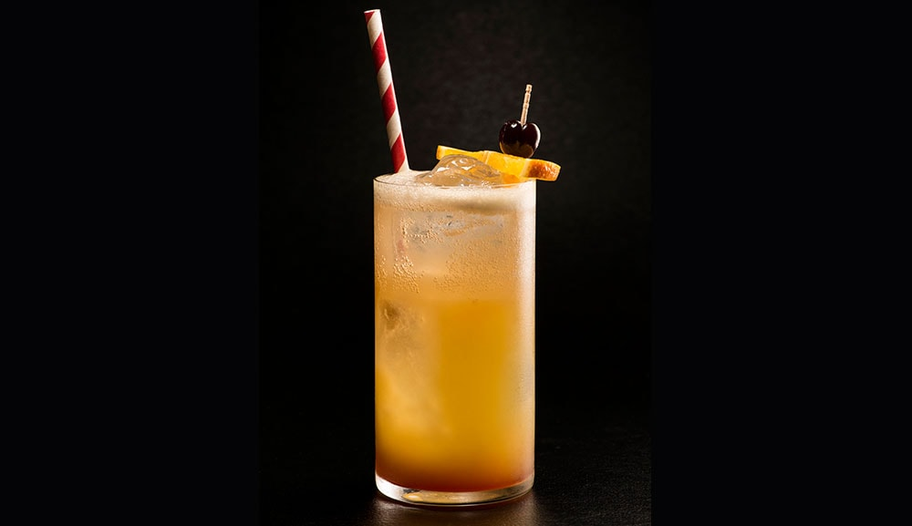 Reinvented Singapore Sling at Adrift Bar & Lounge