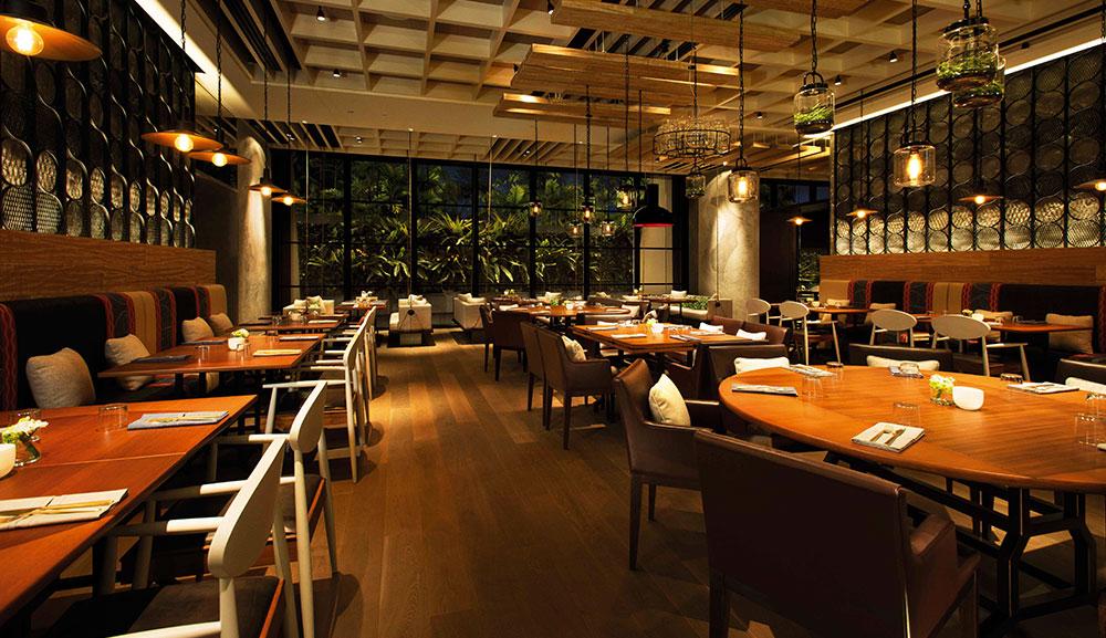 Adrift by david myers celebrity chef restaurant in