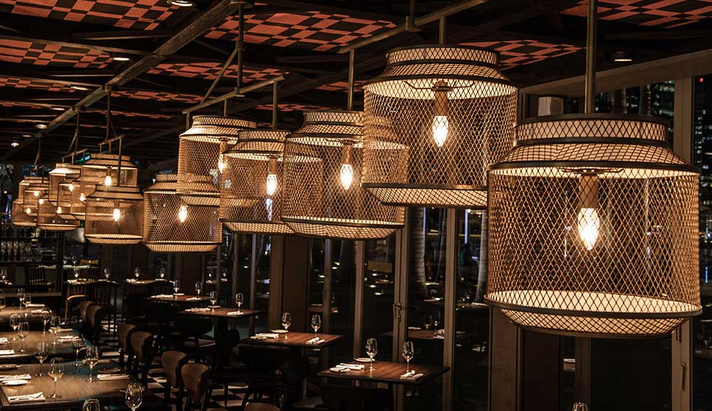 Bread Street Kitchen by Gordon Ramsay Lighting