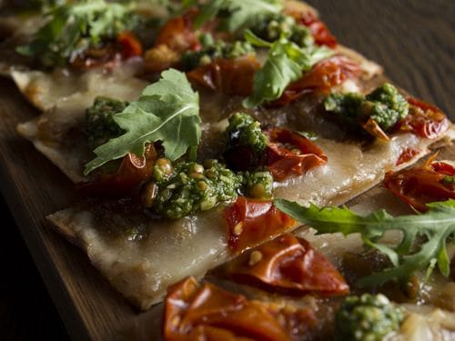 Bread Street Kitchen Set Lunch Specials - Flatbread ,Caramelized Onions, Taleggio Cheese