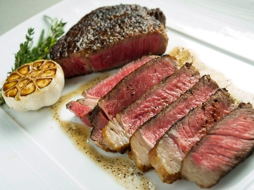 Prime Rib Eye Steak by CUT at Marina Bay Sands