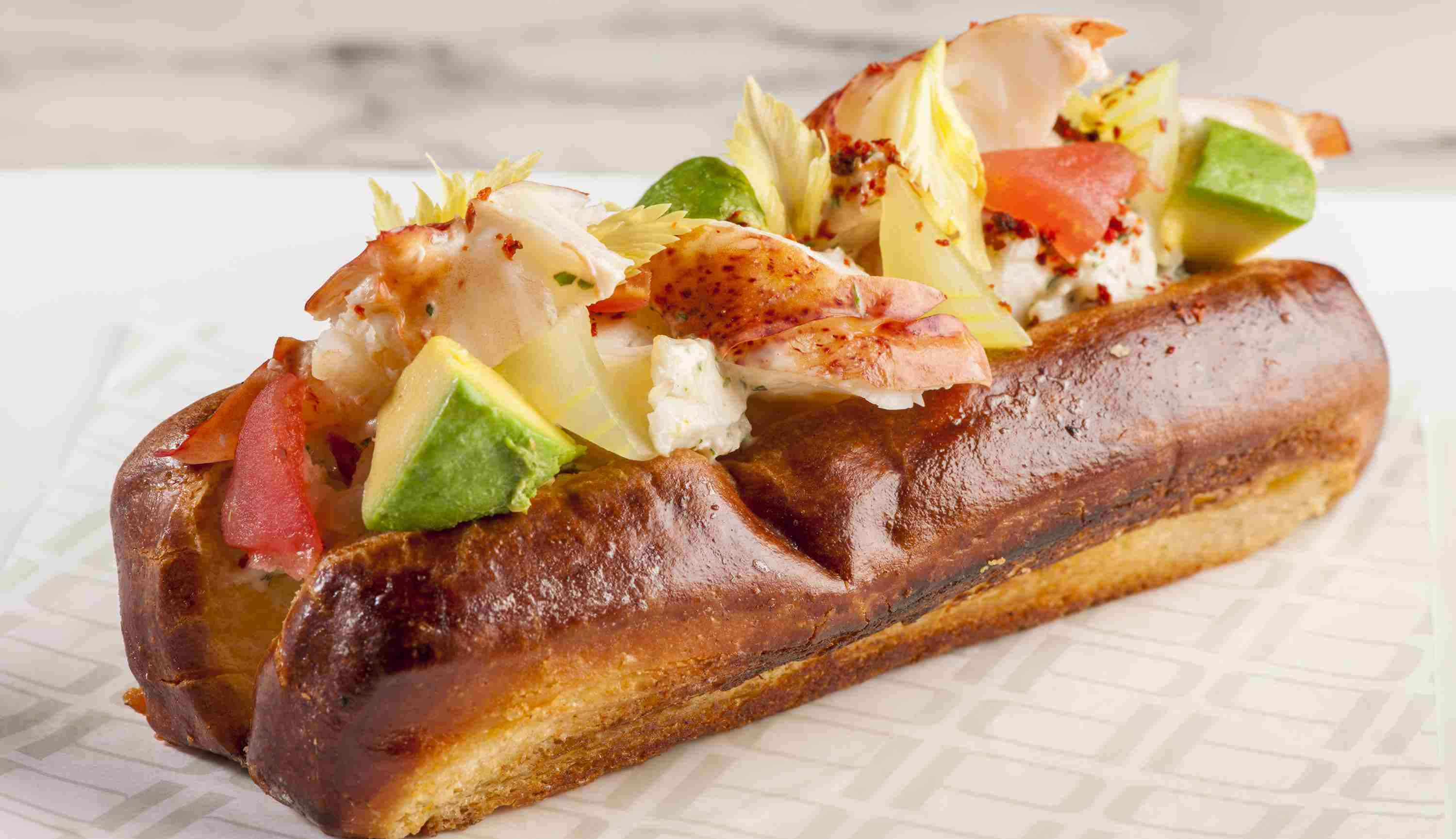 New England Lobster Roll at db Bistro and Oyster Bar