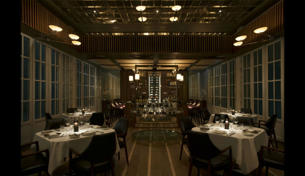 guests can experience an intimate fine dining environment with an extensive wine cellar bar and - Garden By The Bay Eateries
