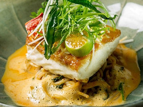 Cod laksa by Spago at Marina Bay Sands