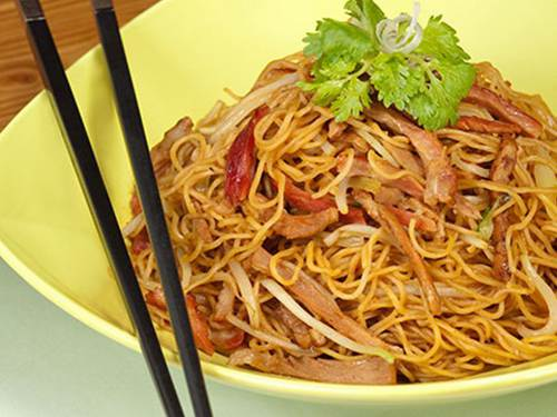 Fried Noodles at Tong Dim Noodle Bar at Marina Bay Sands