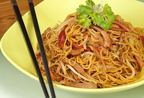 Fried Noodle in Tong Dim Noodle Bar