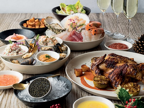 Festive Feast from Land and Sea at Adrift Marina Bay Sands