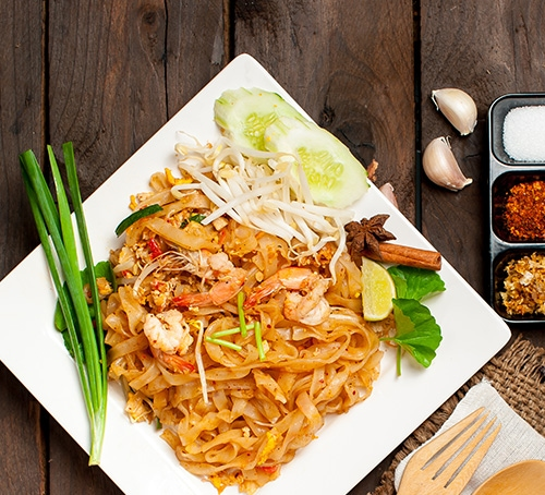 Pad Thai, Guide to Noodles, Singapore Foodie Guide, Marina Bay Sands