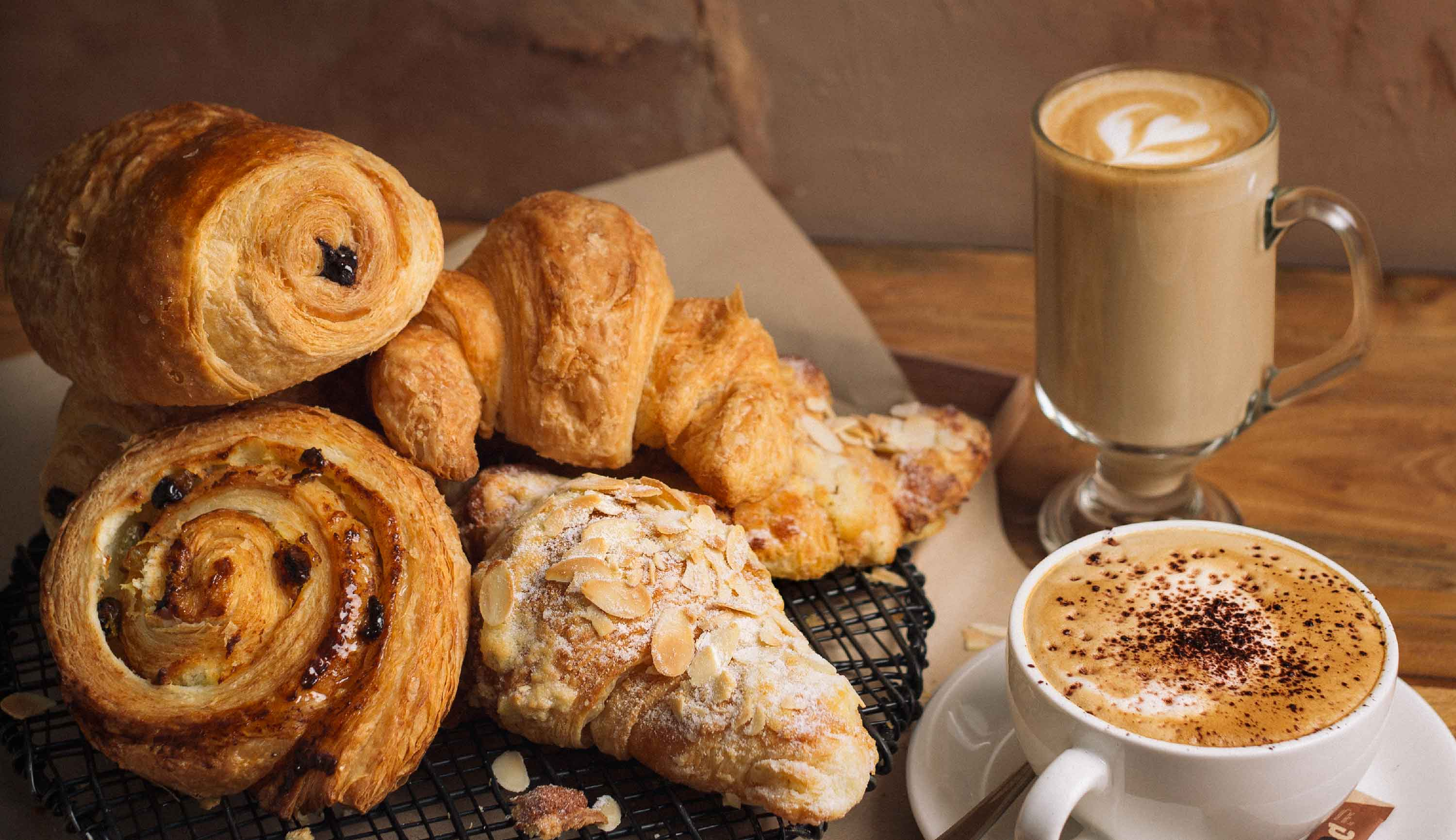 Dapaolo Signature Dishes - Fresh Pastries with Italian Coffee