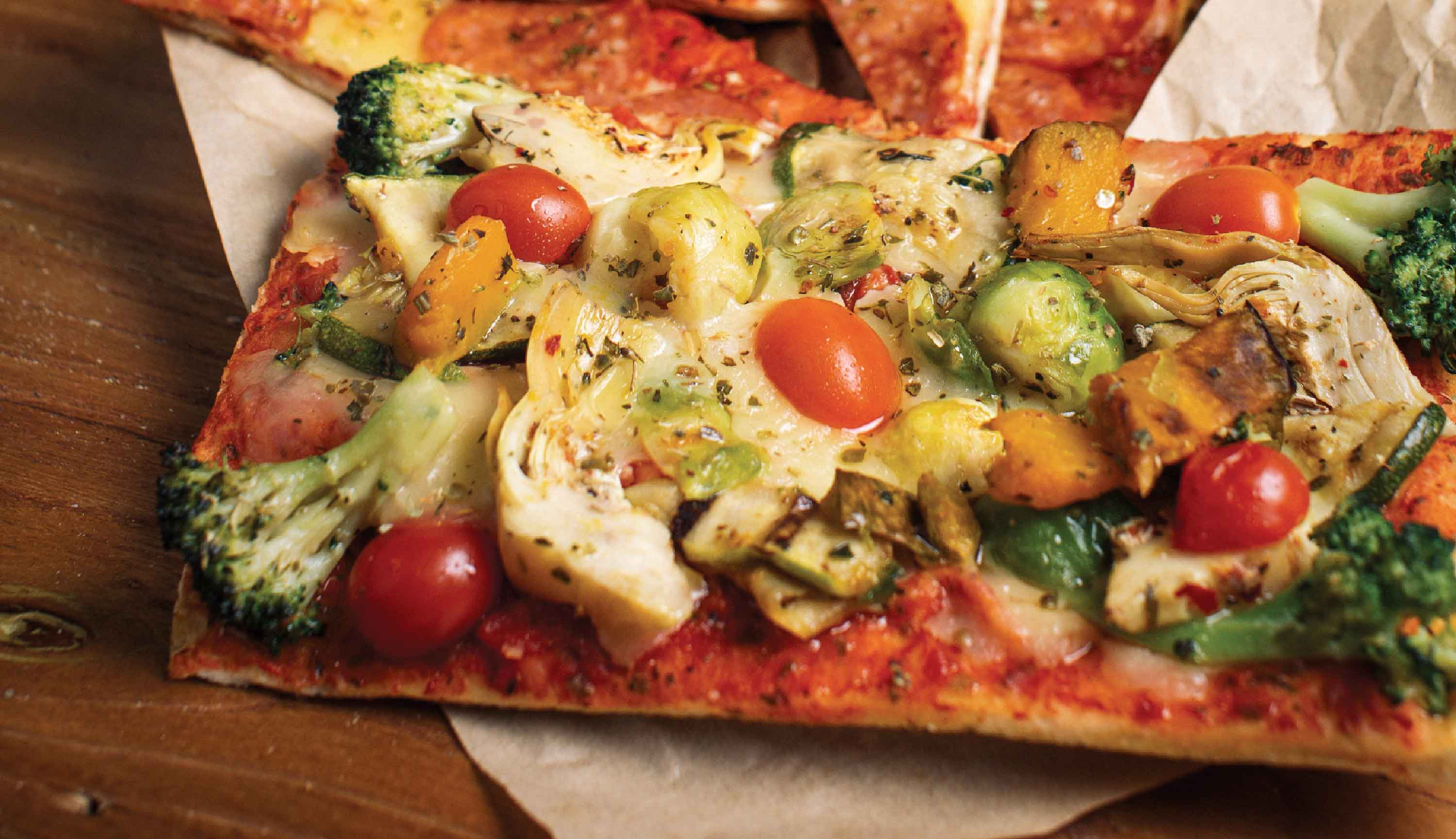Dapaolo Signature Dishes - Vegetable Pizza