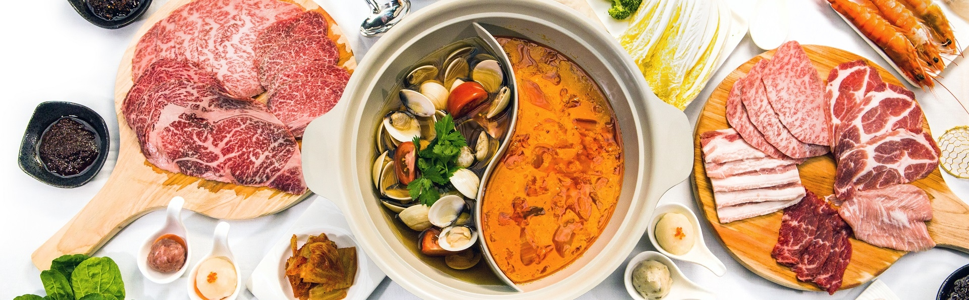 Hotpot Kingdom in Marina Bay Sands Singapore Chinese Cuisine