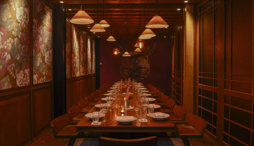 Long Chimu0027s Private Dining Room Is A Unique Space For Any Occasion, Whether  You Are Planning A Birthday Dinner Or A Business Lunch.