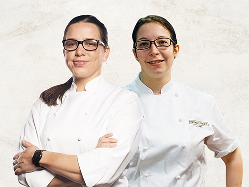 Chef Sabrina vs. Chef Christina - Bread Street Kitchen at Marina Bay Sands