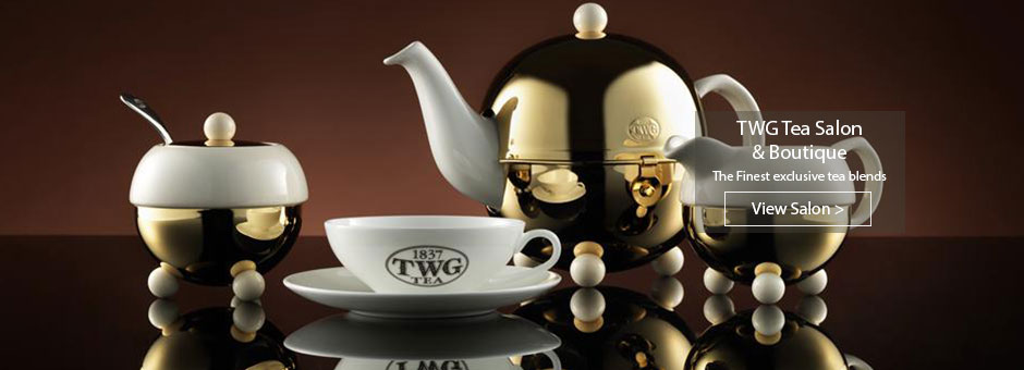 TWG Tea Salon & Boutique tea set