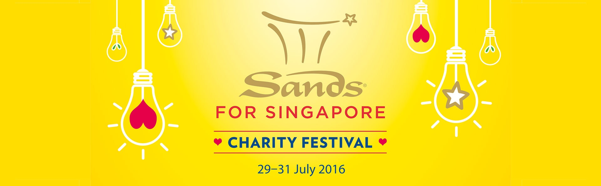 Sands for Singapore 2016 Charity Festival at Marina Bay Sands
