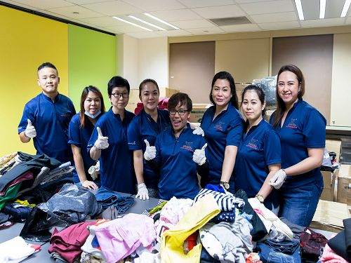 Sands for Singapore volunteers