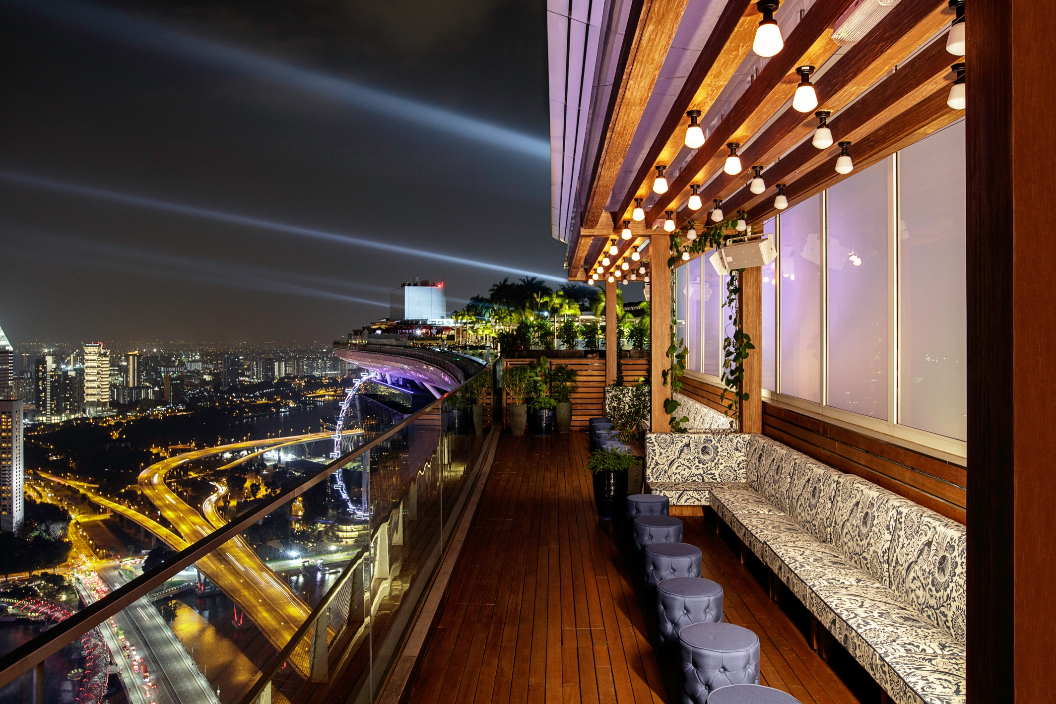 Meals by LAVO Italian Restaurant & Rooftop Bar for hotel guests at Marina Bays Sands