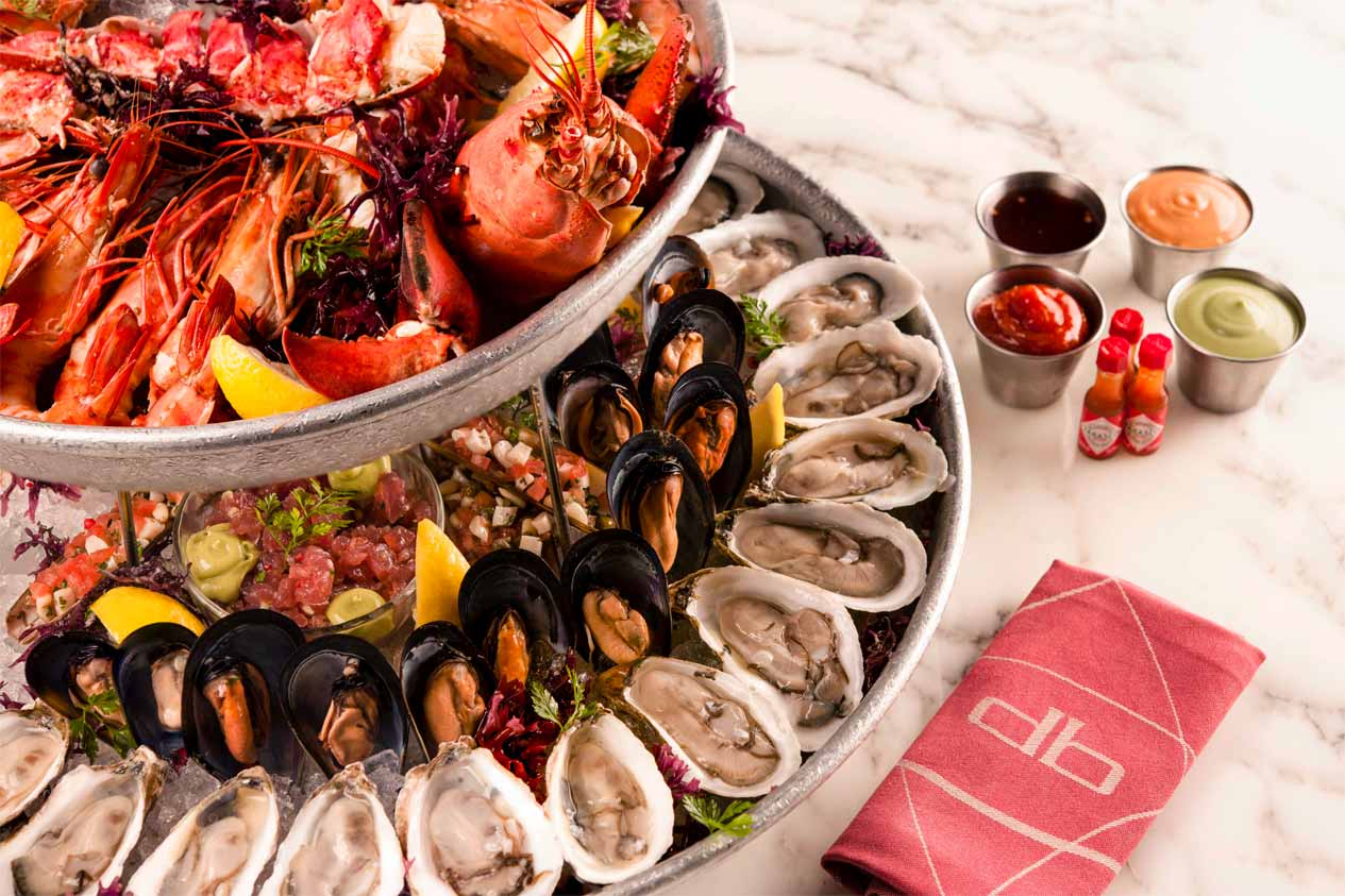 Meals by db Bistro & Oyster Bar By Daniel Boulud  for hotel guests at Marina Bays Sands