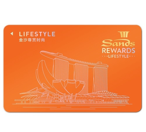 Lifestyle Card - Sands Rewards LifeStyle