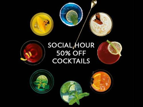 Social Hour Cocktail Promotion at Marina Bays Sands