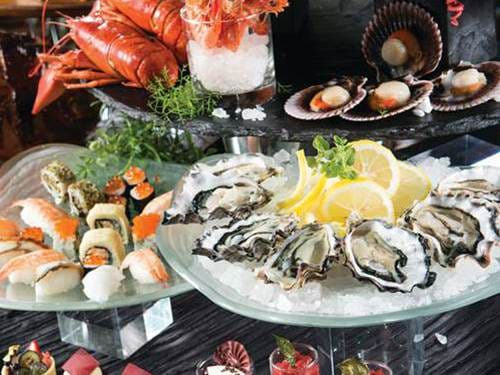 Seafood by RISE Buffet Restaurant at Marina Bay Sands