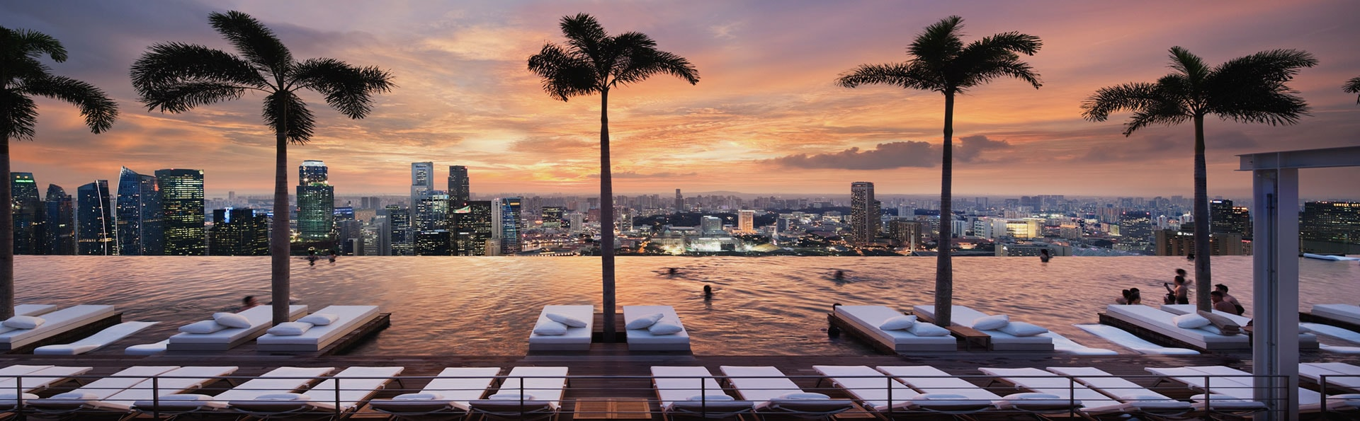 Study reveals what excites us most when travelling 5why - Singapore marina bay sands infinity pool ...
