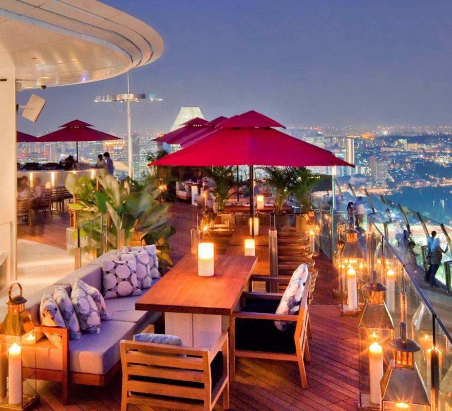 Home Bar Plans: SkyPark Bars And Restaurants