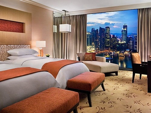 Singapore Hotel Rooms and Hotel Suites at Marina Bay Sands