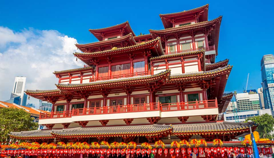 Buddha Tooth Relic Temple & Museum Chinatown
