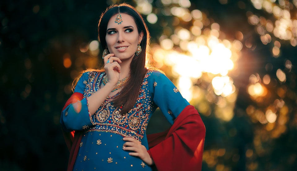 indian ethnic costume