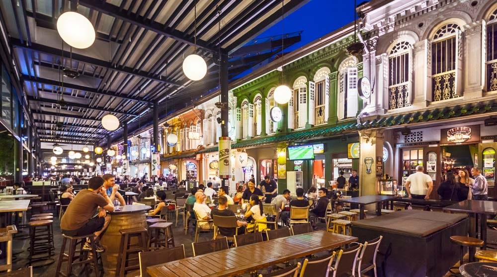 A Night Out on Orchard Road