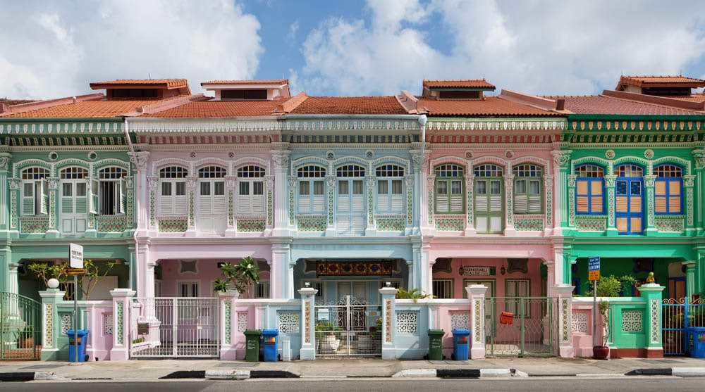 Colourful Shophouses