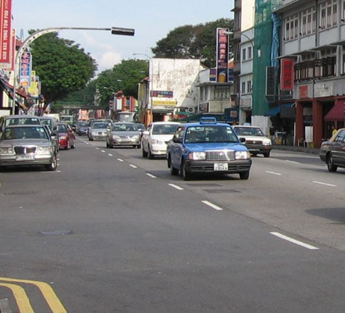 Driving in Singapore