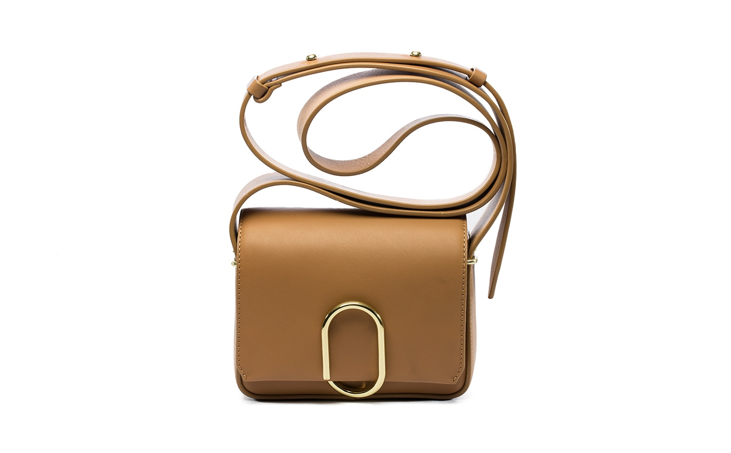 3.1 Phillip Lim: ALIX Flap Mini Crossbody in Camel