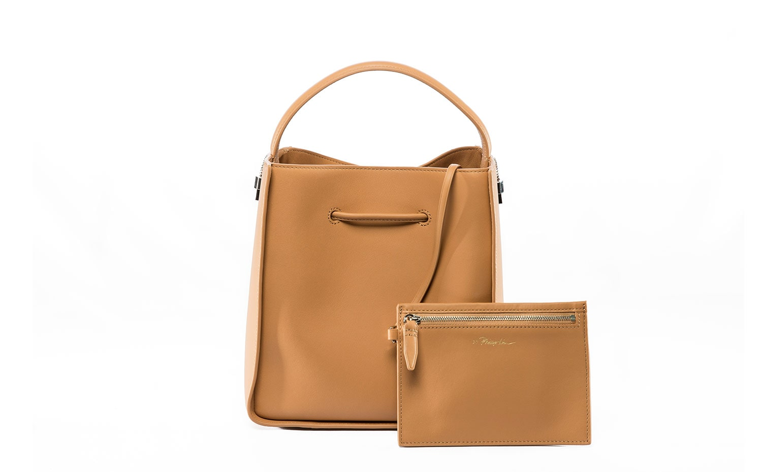 3.1 Phillip Lim: Soleil Small Bucket in Tan